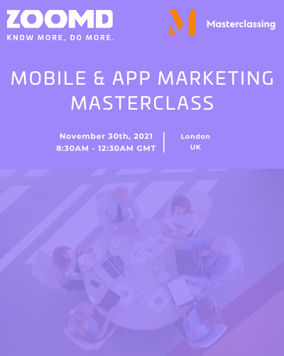 Event cover masterclass Zoomd site