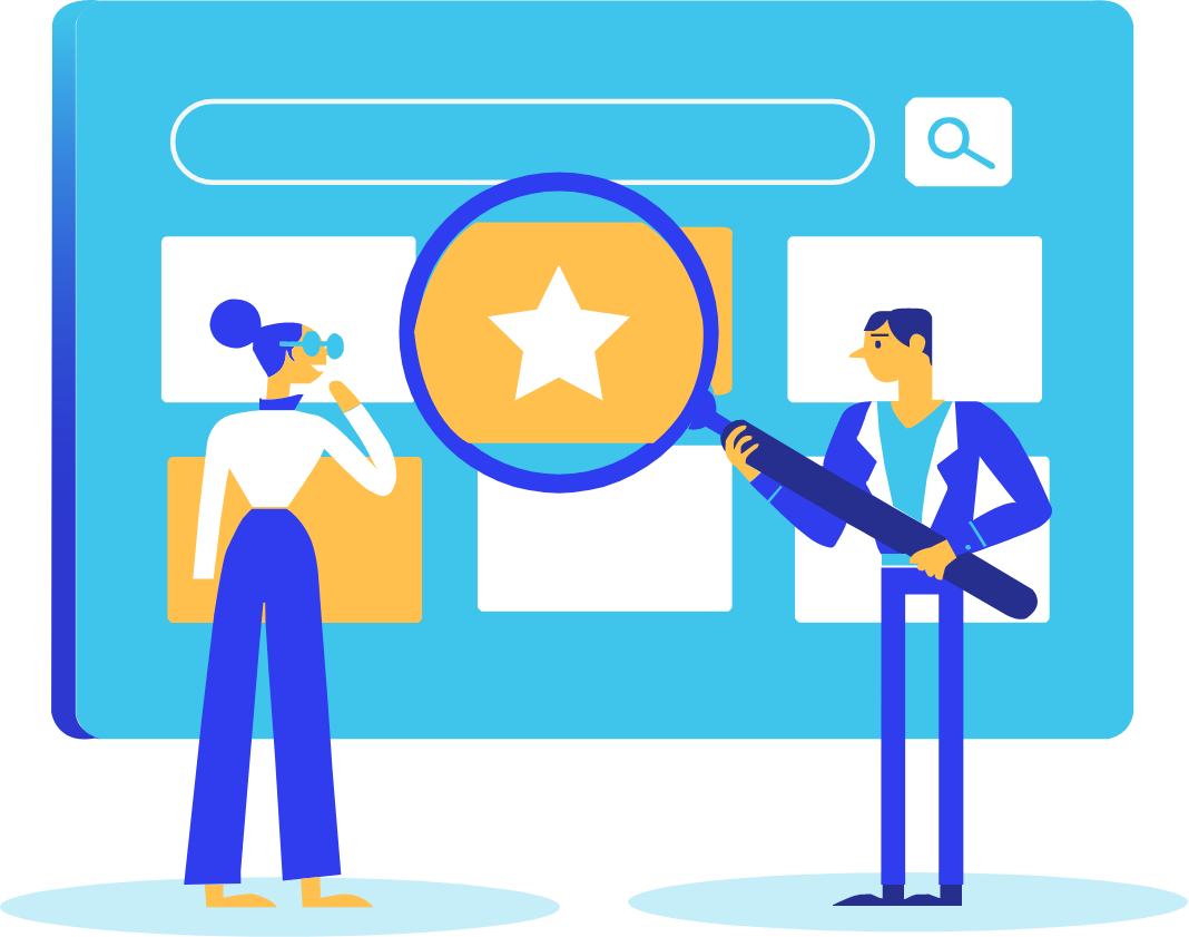 Platfrom with site search technology