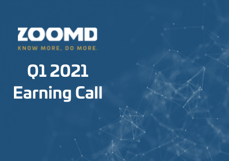 Zoomd Q1 2021 earning call date
