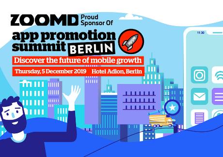 APS Berlin 2019 |Zoomd Sponsor