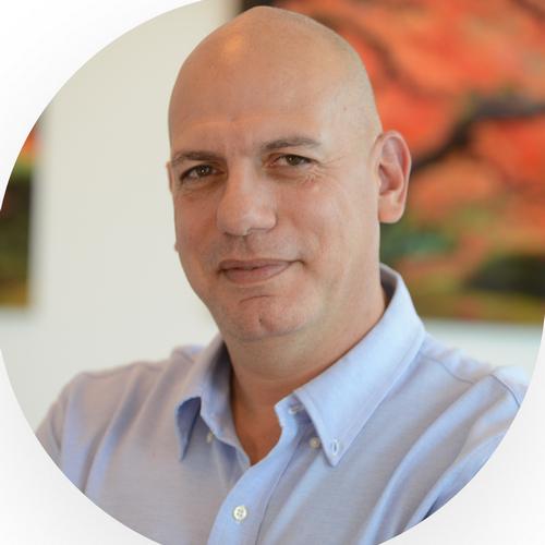head photo of Amit Bohensky- Zoomd chairman of the board