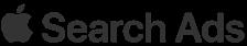Apple Search ads- logo transparent logo