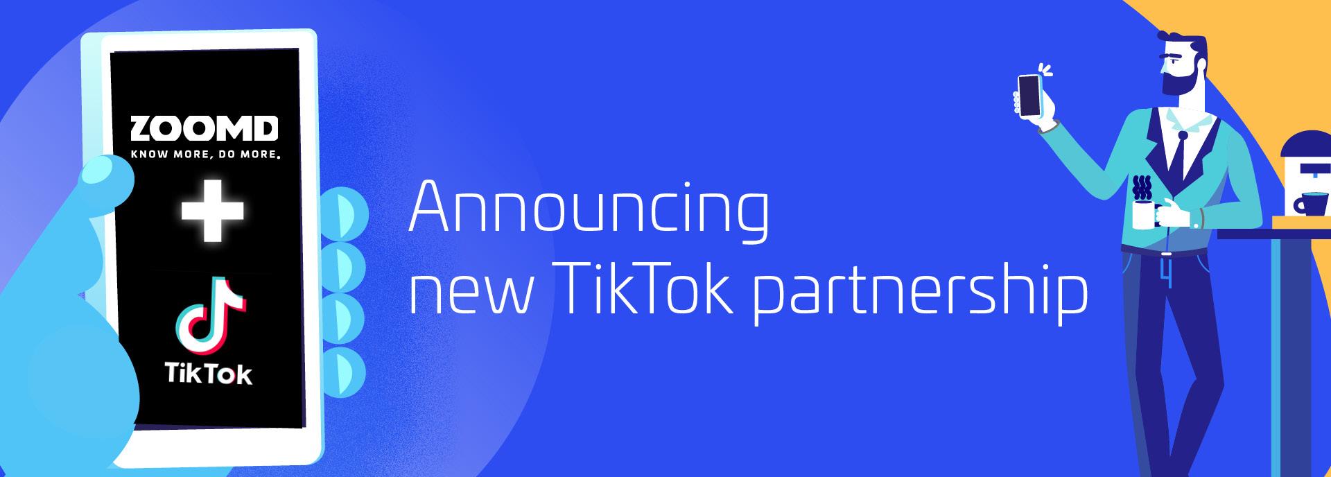 Zoomd Blog- TikTok Partnership