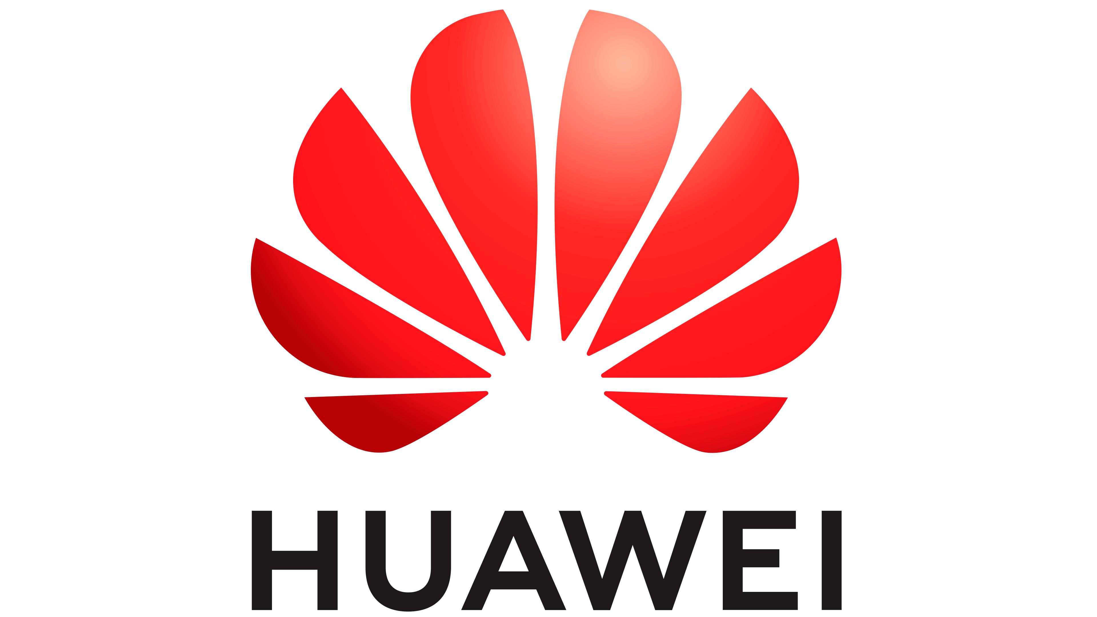 Huawei logo color transparent bg