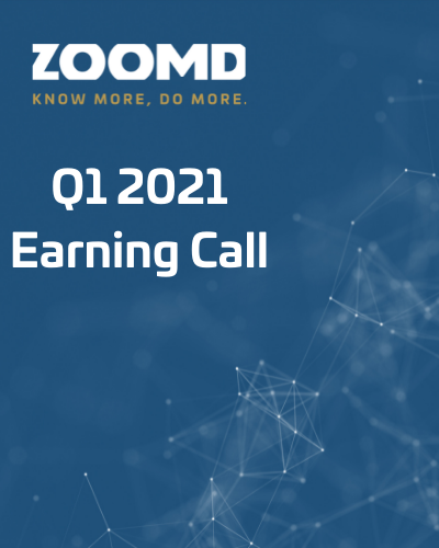 Zoomd Conference call earning call - Q1 2021