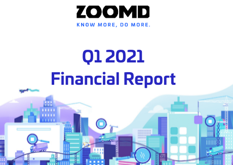 Zoomd Q1 2021 FS PR